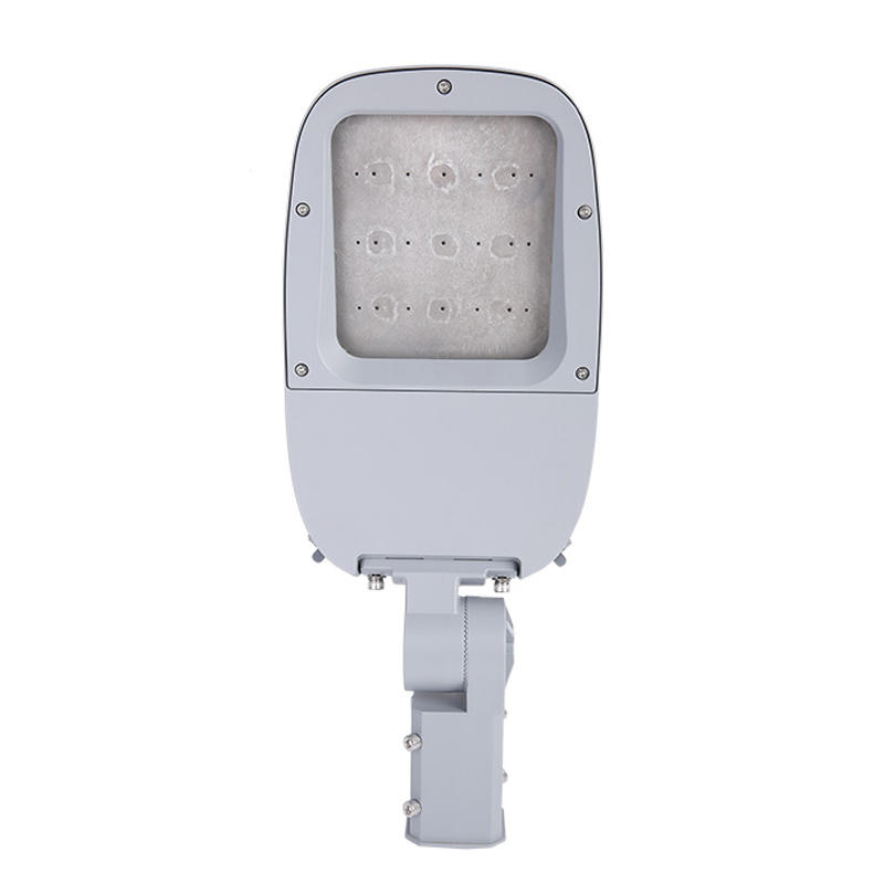 ST108EM-A 50W-240W waterproof IP66 aluminum die cast injection parts with glass IP66 Led outdoor street lights housing