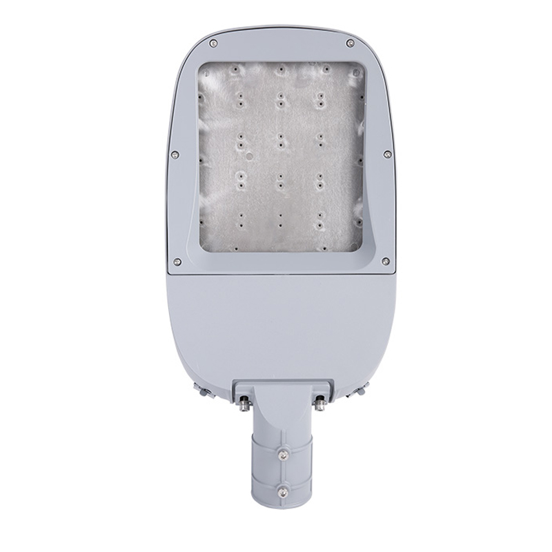 ST108EM-B 50W-240W waterproof IP66 aluminum die cast injection parts with glass Led outdoor parking lot street lights housing