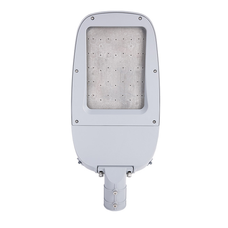 ST108EM-C 50W-240W waterproof IP66 aluminum die cast injection parts with glass IP66 Road project lighting Led street lights housing